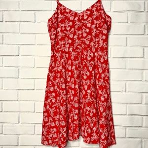 GAP Sleeveless Floral Sun Dress S Size Fit & Flare